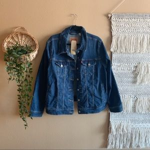 NWT Levi Denim Jacket